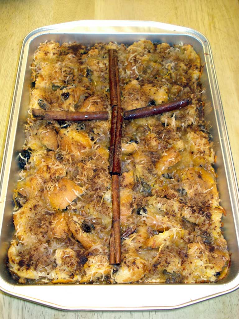 Capirotada, Mexican-style bread pudding for Lent, enjoyed ...